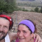 Marco e Benedetta nel campo di Lavagna